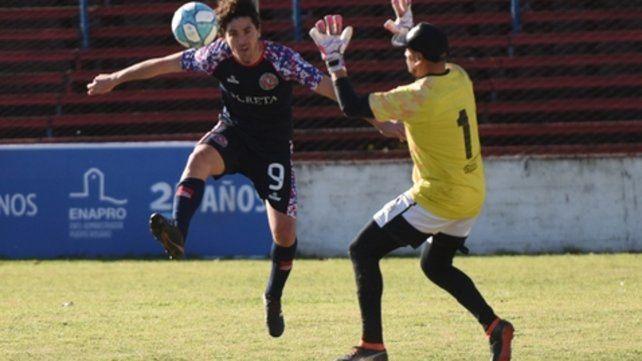Su gol no alcanzó. Lucio Cereseto volvió a convertir pero Laferrere lo dio vuelta.