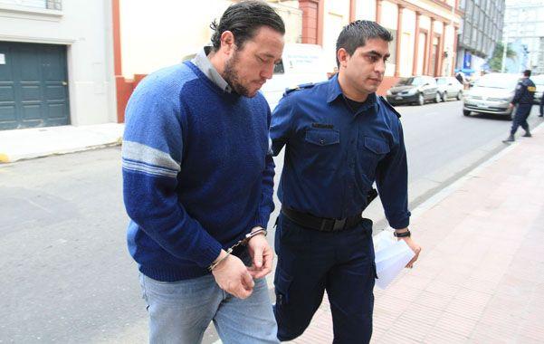 Imputado. Díaz fue arrestado por homicidio y lesiones graves y permanece detenido en la UP Nº 1 de Paraná.