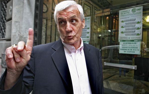 """Caló calificó de """"buchón"""" al abogado que lo denunció y advirtió que en realidad buscan perjudicar a Scioli."""