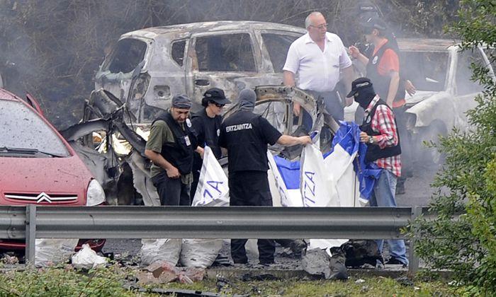 Una bomba colocada por ETA mató a un jefe policial antiterrorista de España