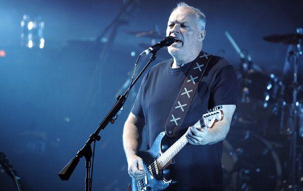 De regreso. David Gilmour reunió a los Floyd por última vez en 2005.