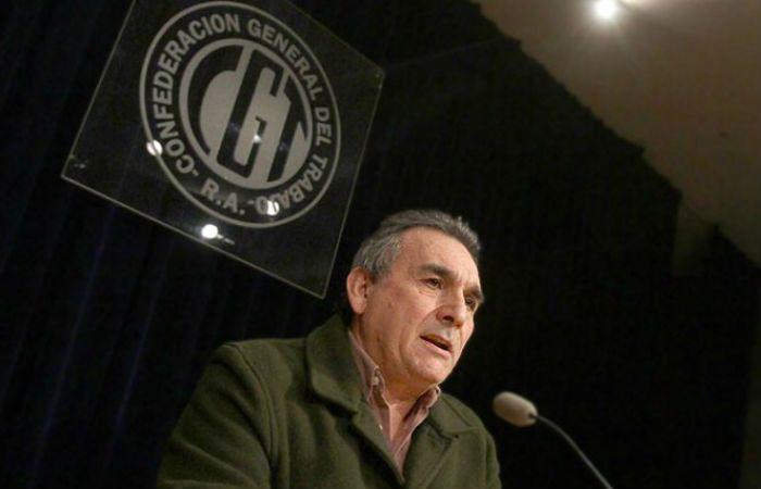 El secretario general de la Confederación Argentina de Trabajadores del Transporte