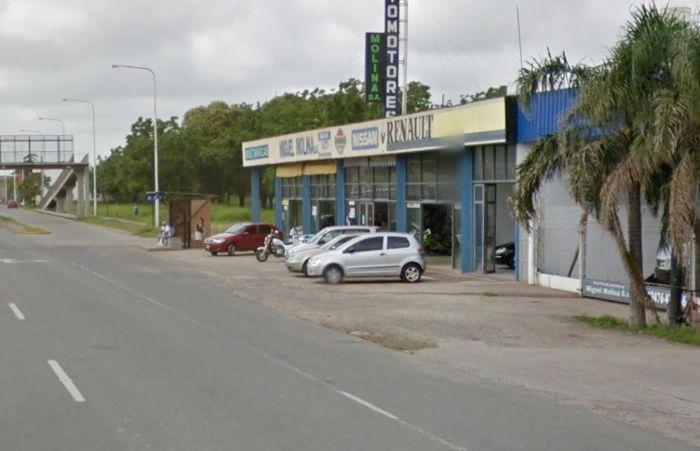 La concesionaria de ruta 11 y Lavalle