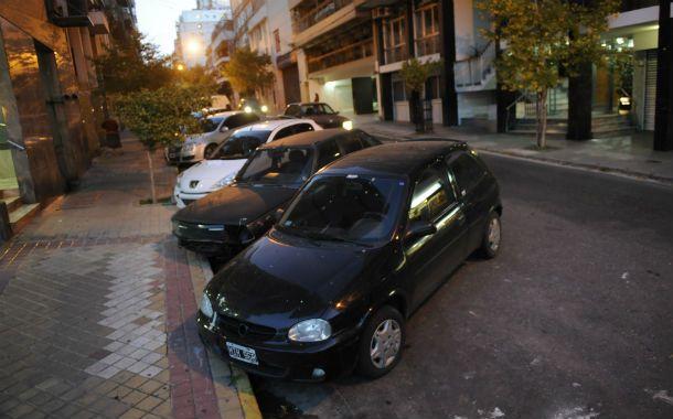 Resabios del pasado. El estacionamiento a 45 grados fue regulado por la dictadura militar