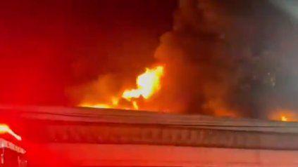 Un incendio destruyó miles de archivos fílmicos de la Cinemateca Brasileña en San Pablo