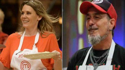 Rocío Marengo y el Mono de Kapanga le pusieron emoción al certamen de cocina.