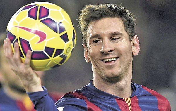 Ayer le hizo tres a Espanyol y es el máximo artillero en el clásico catalán con 12.