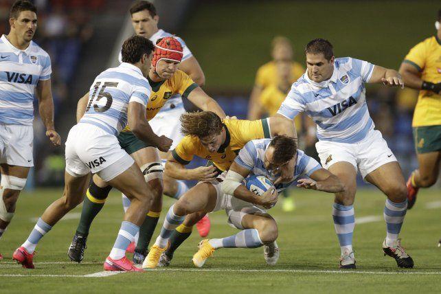 Los Pumas jugaron otro partido de gran nivel y empataron con Australia en el Tres Naciones
