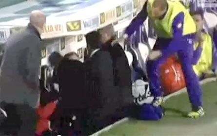 Echan al DT de Fiorentina por trompear a un jugador