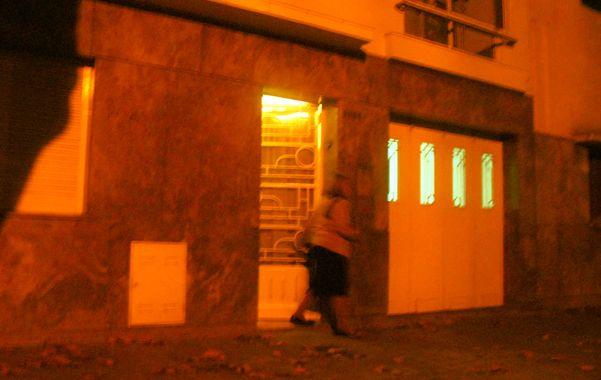 Escenario criminal. La casa de Riobamba al 3000 donde asfixiaron a Susana García de Giménez en mayo de 2010.