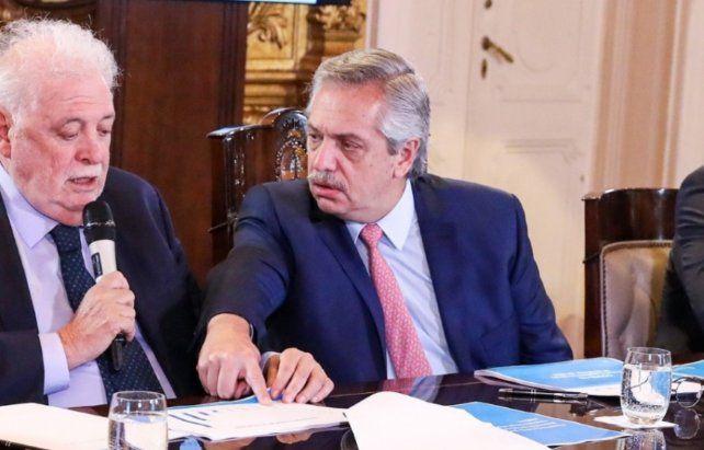 Prioridad. El presidente Alberto Fernández postergó otras iniciativas y se concentró en la emergencia.