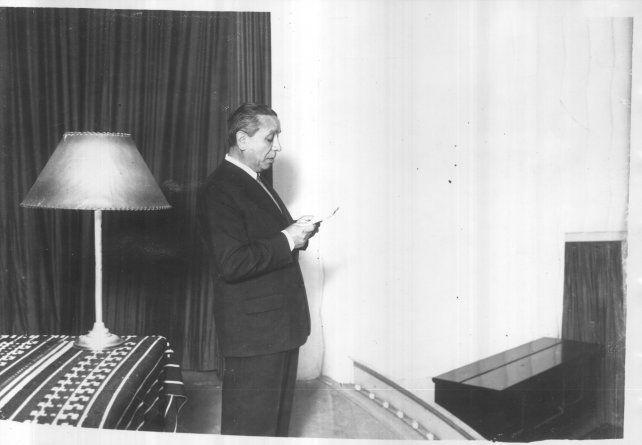 El maestro Francisco Armadá fue uno de los oradores de las jornadas de lucha.
