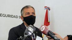 Ministro de Trabajo provincial, Juan Manuel Pusineri.
