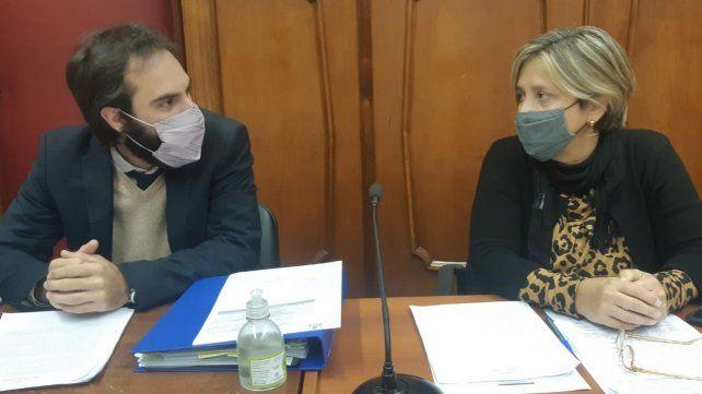 Los fiscales Hernández y Jiménez estuvieron a cargo de la investigación.