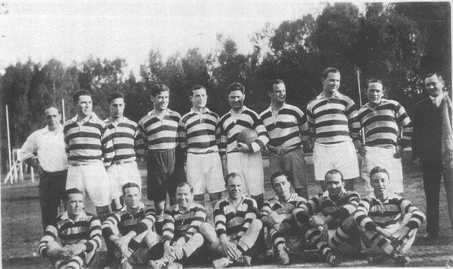 El primer seleccionado de la por entonces Santa Fe Rugby Union. El rugby rosarino siempre fue un gran protagonista.