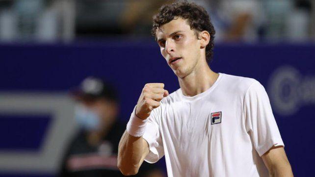 Juan Manuel Cerúndolo es el primer finalista del Córdoba Open.