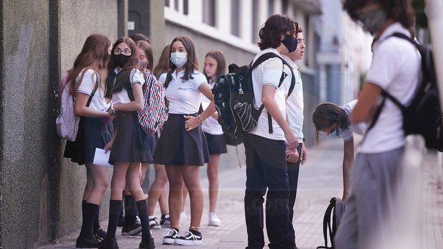 No hemos tenido aulas donde un grupo de estudiantes se haya contagiado