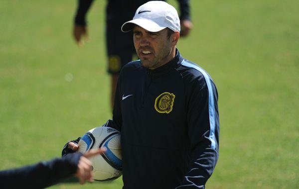 El Chacho definirá el equipo del domingo a último momento.