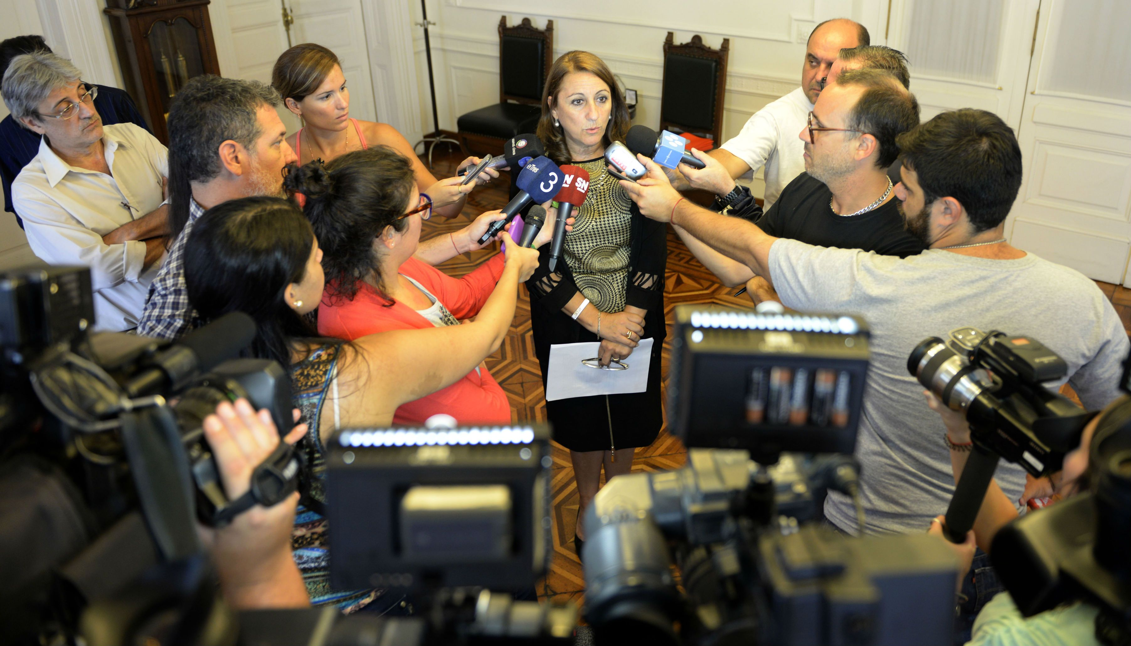 La intendenta Mónica Fein dijo que el socialismo estuvo bien representado en la marcha con Hermes Binner y Miguel Lifschitz.