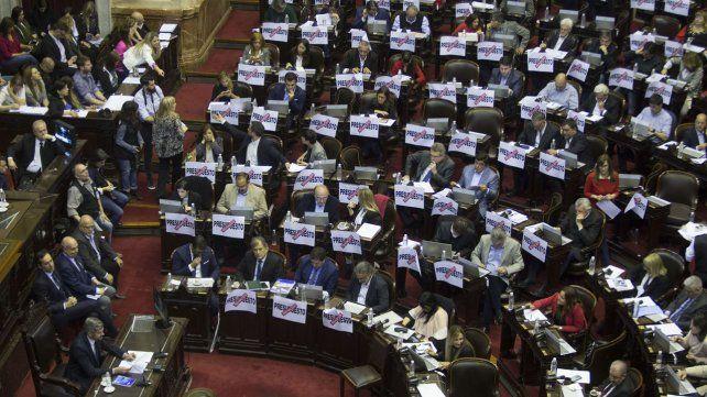 Seguí en vivo el debate sobre el presupuesto en Diputados