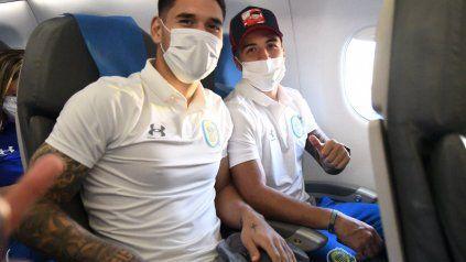 El juvenil volante central Rodrigo Villagra viajó a Paraguay con marcado optimismo.