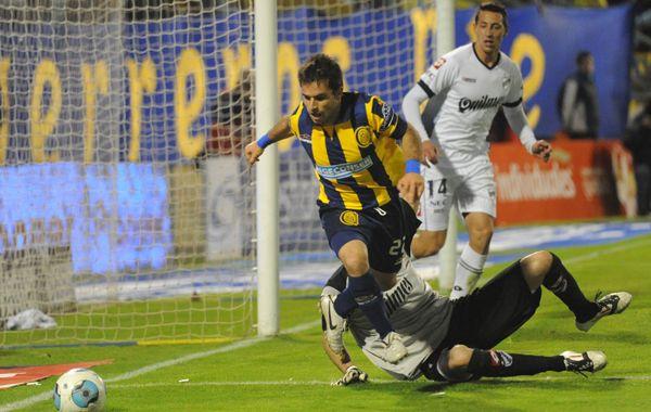 Franco Niell jugó algunos minutos en el partido ante Quilmes. Foto: S. Suárez Meccia.