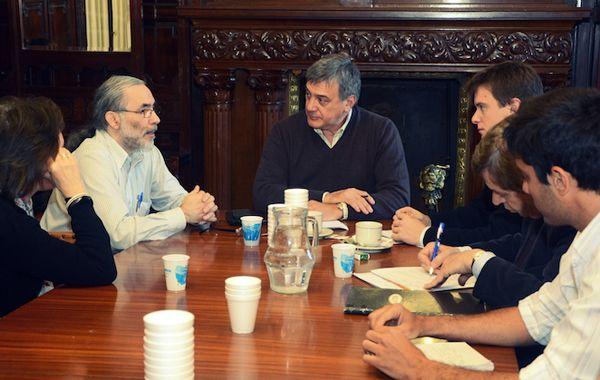 Boasso consideró muy beneficiosa la reunión con el especialista.