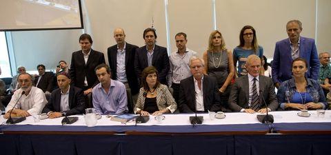 Patricia Bullrich convocó a un homenaje a Nisman que se realizó en la sala II del edificio anexo de Diputados.