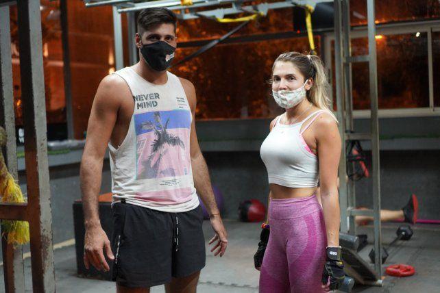 Ignacio Nahhas y Paula Loor
