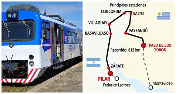 El Tren de los Pueblos Libres logra superar las barreras y llegará a Paso de los Toros