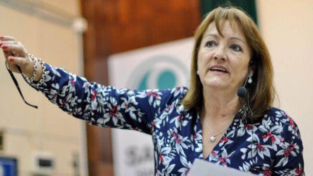 La diputada nacional del Frente de Todos por Santa Fe, Patricia Mounier.