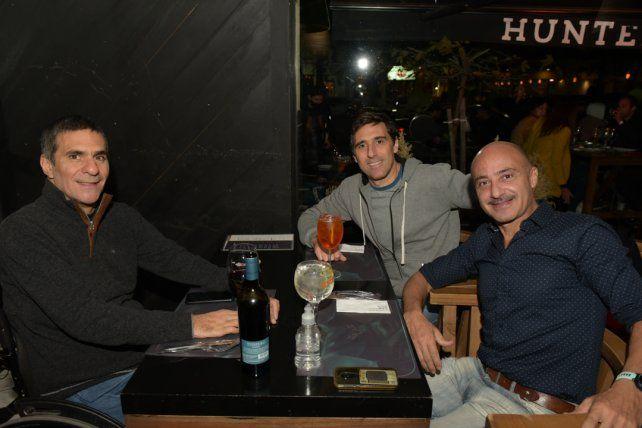 Mariano y Ariel Carrabs y Pablo Rodriguez