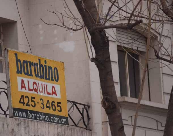 Piden a la Nación que firme un convenio de Precios Cuidados por los alquileres. (Foto: F. Guillén)