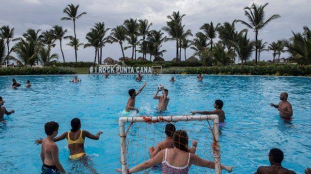 Punta Cana. Allí se hospedaban algunos de los turistas estadounidenses que murieron en un lapso de un año.