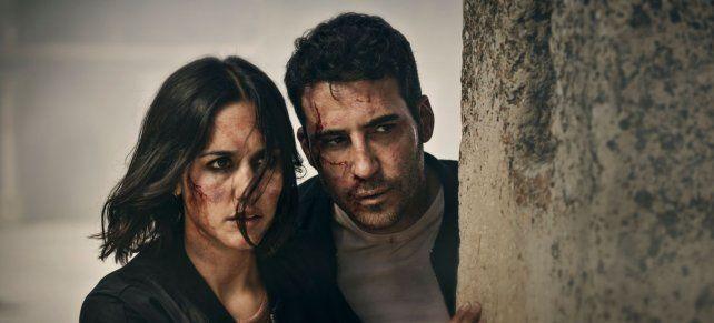 Megan Montaner y Miguel Angel Silvestre.