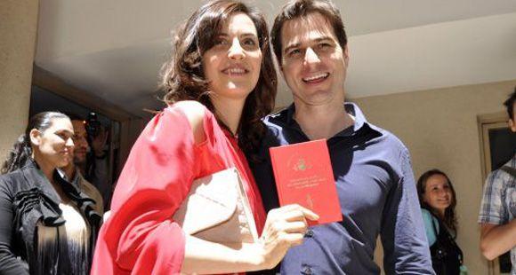 Las fotos del casamiento de Julieta Díaz con su novio norteamericano
