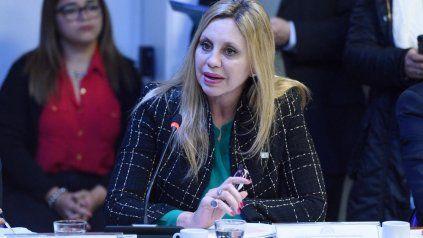 Sacnun es senadora por Santa Fe y busca un nuevo mandato.