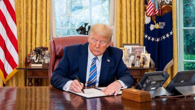 Trump suspendió todos los vuelos de Europa a Estados Unidos por el coronavirus