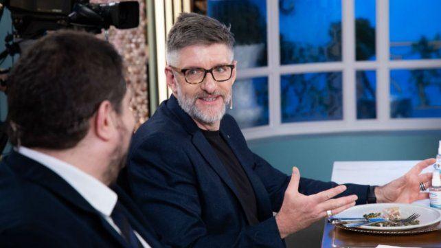 Luis Novaresio fue uno de los invitados al programa que conduce Juana Viale.