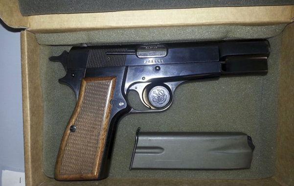La pistola Browning HP 9mm usada por el turco Mehmet Ali Agca cuando atentó contra Juan Pablo II será exhibida en un museo de Cracovia