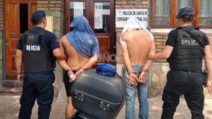 Los jóvenes detenidos como autores de la violenta entradera