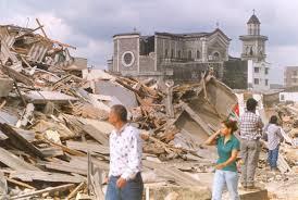 Armenia.  La ciudad colombiana del Eje Cafetero quedó devastada tras el sismo.