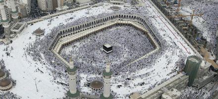 Ahmadineyad peregrina a La Meca invitado por Arabia Saudí