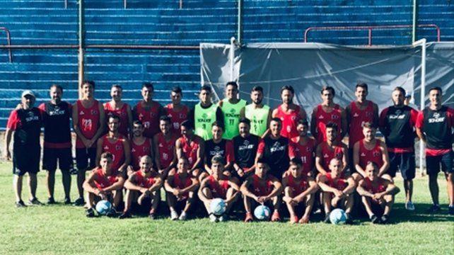 El plantel 2020. Los charrúas apuestan a ser protagonistas en el torneo Clausura.