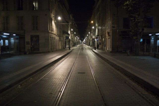 TOQUE DE QUEDA. La ciudad de Marsella