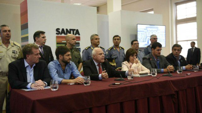 Lifschitz evaluó como muy positivo el trabajo conjunto con el Ministerio de Seguridad nacional