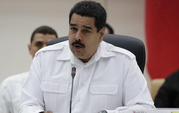Maduro ganó por escaso margen la presidencia en abril del año pasado