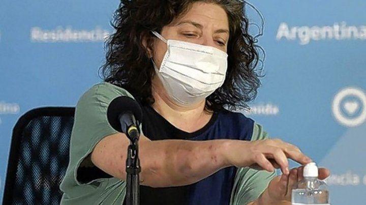 Carla Vizzotti, tiene coronavirus y permanece aislada