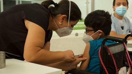 Vacunación de niños con comorbilidades en Tuxla Gutiérrez, México.
