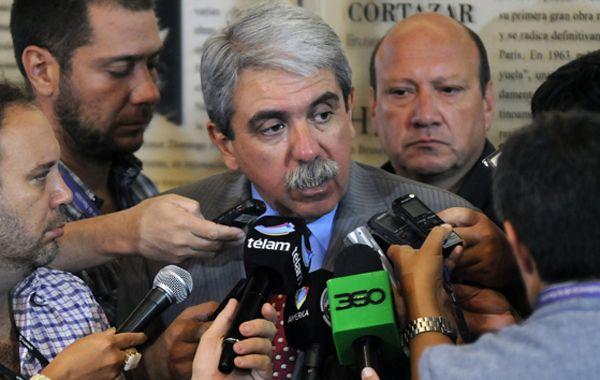 Fernández cuestionó que Carrió en duros términos. (Foto:Télam)